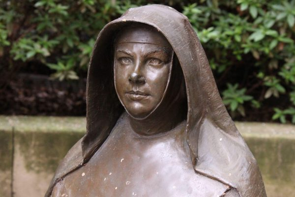 2ARDTAB Bronze Statue Bust of Mary MacKillop Heritage Centre East Melbourne